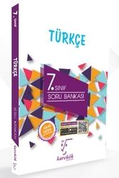 Karekök Yayınları - Karekök Yayınları 7.Sınıf Türkçe Soru Bankası