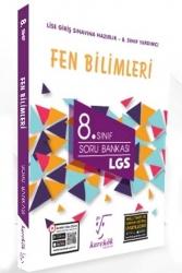 Karekök Yayınları - Karekök Yayınları 8. Sınıf LGS Fen Bilimleri Soru Bankası