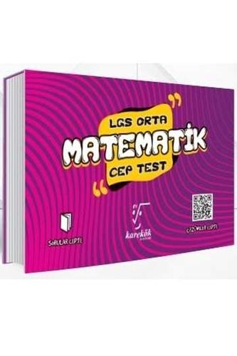 Karekök Yayınları 8. Sınıf LGS Matematik Orta Cep Test