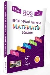 Karekök Yayınları - Karekök Yayınları 8. Sınıf LGS Matematik ROS Beceri Temelli Yeni Nesil Soru Bankası