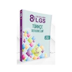 Karekök Yayınları - Karekök Yayınları 8. Sınıf LGS Türkçe Denemeleri