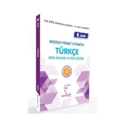 Karekök Yayınları - Karekök Yayınları 8. Sınıf LGS Türkçe Konu Anlatımı ve Soru Çözümü