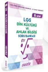 Karekök Yayınları - Karekök Yayınları 8.Sınıf LGS Din Kültürü ve Ahlak Bilgisi Soru Bankası