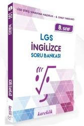 Karekök Yayınları - Karekök Yayınları 8.Sınıf LGS İngilizce Soru Bankası