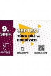 Karekök Yayınları - Karekök Yayınları 9. Sınıf Türk Dili ve Edebiyatı Cep Test