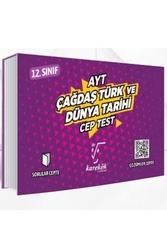 Karekök Yayınları - Karekök Yayınları AYT Çağdaş Türk ve Dünya Tarihi Cep Test