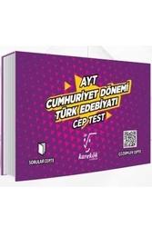 Karekök Yayınları - Karekök Yayınları AYT Cumhuriyet Dönemi Türk Edebiyatı Cep Test