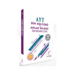 Karekök Yayınları - Karekök Yayınları AYT Din Kültürü ve Ahlak Bilgisi Çözümlü 30 Deneme
