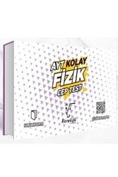 Karekök Yayınları - Karekök Yayınları AYT Fizik Kolay Cep Test