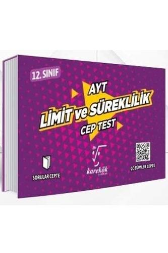 Karekök Yayınları AYT Limit ve Süreklilik Cep Test