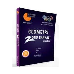 Karekök Yayınları - Karekök Yayınları Geometri Çözümlü Zoru Bankası