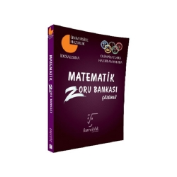 Karekök Yayınları - Karekök Yayınları Matematik Çözümlü Zoru Bankası