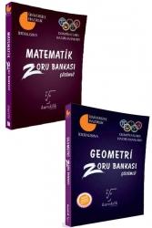 Karekök Yayınları - Karekök Yayınları Matematik ve Geometri Çözümlü Zoru Bankası Seti