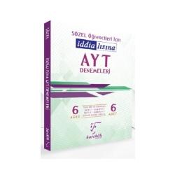 Karekök Yayınları - Karekök Yayınları Sözel Öğrencileri İçin AYT 6 lı Denemeleri