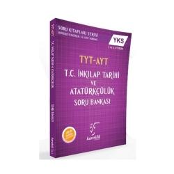 Karekök Yayınları - Karekök Yayınları TYT AYT T.C. İnkilap Tarihi ve Atatürkçülük Soru Bankası