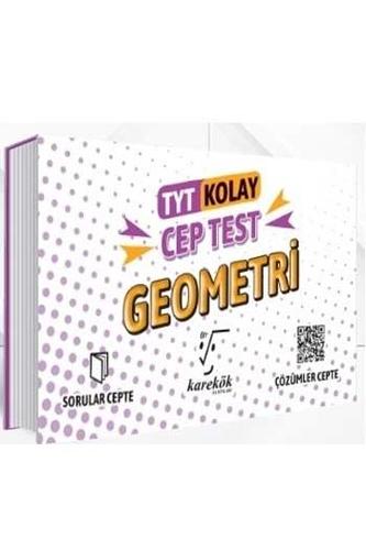 Karekök Yayınları TYT Geometri Kolay Cep Test