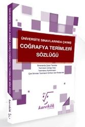 Karekök Yayınları - Karekök Yayınları Üniversite Sınavlarında Çıkmış Coğrafya Terimleri Sözlüğü