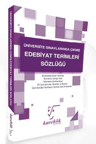 Karekök Yayınları Üniversite Sınavlarında Çıkmış Edebiyat Terimleri Sözlüğü