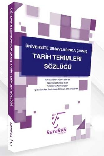 Karekök Yayınları Üniversite Sınavlarında Çıkmış Tarih Terimleri Sözlüğü