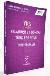 Karekök Yayınları - Karekök Yayınları YKS 2. Oturum AYT Cumhuriyet Dönemi Türk Edebiyatı Soru Bankası