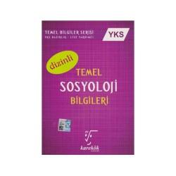 Karekök Yayınları - Karekök Yayınları YKS Dizinli Temel Sosyoloji Bilgileri