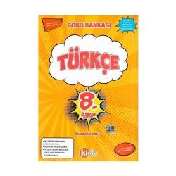 Kida Yayınları - Kida Yayınları 8. Sınıf Türkçe Soru Bankası