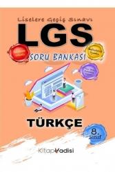 Kitap Vadisi Yayınları - Kitap Vadisi Yayınları 2021 LGS 8. Sınıf Türkçe Soru Bankası