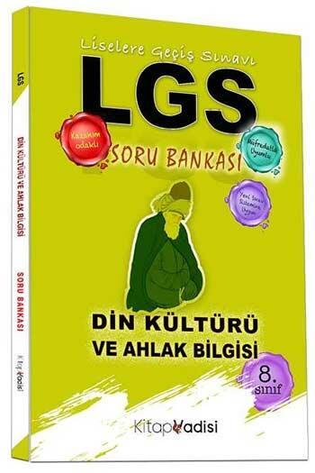 Kitap Vadisi Yayınları - Kitap Vadisi Yayınları 8. Sınıf LGS Din Kültürü ve Ahlak Bilgisi Soru Bankası