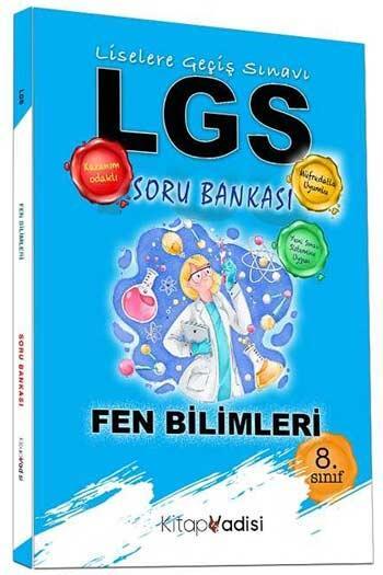 Kitap Vadisi Yayınları - Kitap Vadisi Yayınları 8. Sınıf LGS Fen Bilimleri Soru Bankası
