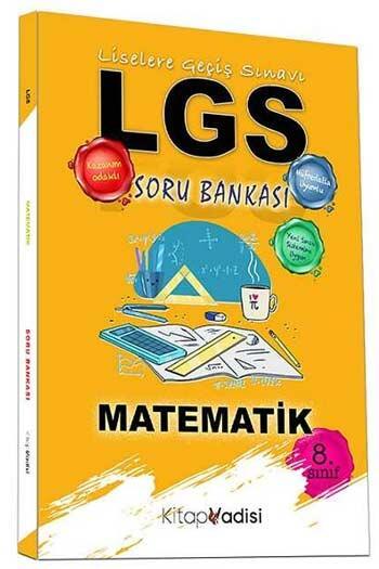 Kitap Vadisi Yayınları - Kitap Vadisi Yayınları 8. Sınıf LGS Matematik Soru Bankası