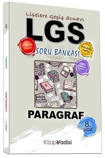 Kitap Vadisi Yayınları - Kitap Vadisi Yayınları 8. Sınıf LGS Paragraf Soru Bankası