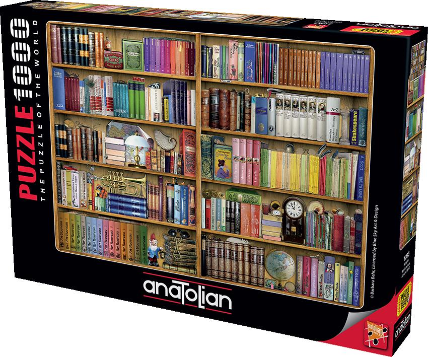 Anatolian - Kitaplık / Bookshelves