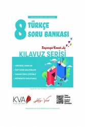 Koray Varol Akademi - Koray Varol Akademi 8. Sınıf Türkçe Kılavuz Soru Bankası