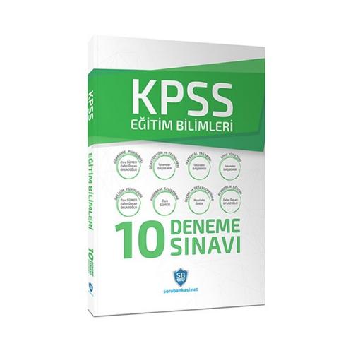 KPSS Eğitim Bilimleri Çözümlü 10 Deneme Sınavı