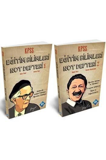 KR Akademi - KR Akademi 2021 KPSS Eğitim Bilimleri Not Defteri 2 Kitap