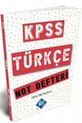 KR Akademi - KR Akademi 2021 KPSS Türkçe Not Defteri