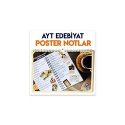 KR Akademi - KR Akademi AYT Edebiyat Poster Notlar