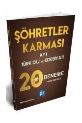 KR Akademi - KR Akademi AYT Türk Dili ve Edebiyatı Şöhretler Karması 20 Deneme Video Çözümlü