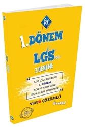 KR Akademi - KR Akademi LGS 1. Dönem Video Çözümlü 3 Deneme
