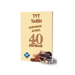 KR Akademi - KR Akademi TYT Tarih Denemeden Olmaz 40 Deneme