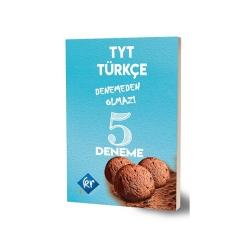 KR Akademi - KR Akademi TYT Türkçe Denemeden Olmaz 5 Deneme