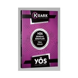 Kuark Yayınları - Kuark Yayınları YÖS Deneme Sınavları