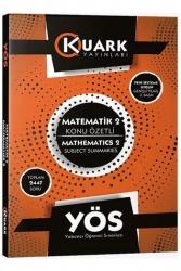 Kuark Yayınları - Kuark Yayınları YÖS Matematik 2 Konu Özetli Soru Bankası