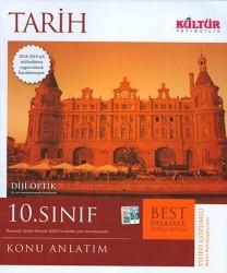 Kültür Yayıncılık - Kültür Yayıncılık 10. Sınıf Tarih BEST Konu Anlatımı