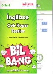 Kültür Yayıncılık - Kültür Yayıncılık 6. Sınıf İngilizce Çek Kopar Testler