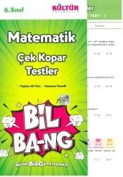 Kültür Yayıncılık - Kültür Yayıncılık 6. Sınıf Matematik Bil Bang Çek Kopar Testler