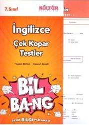 Kültür Yayıncılık - Kültür Yayıncılık 7. Sınıf İngilizce Çek Kopar Testler
