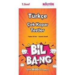 Kültür Yayıncılık - Kültür Yayıncılık 7. Sınıf Türkçe Bil Bang Çek Kopar Testler