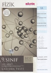 Kültür Yayıncılık - Kültür Yayıncılık 9. Sınıf Fizik BEST Çalışma Testi