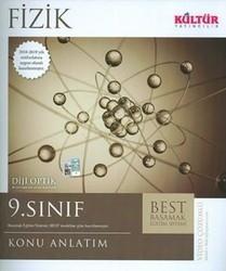 Kültür Yayıncılık - Kültür Yayıncılık 9. Sınıf Fizik BEST Konu Anlatımı